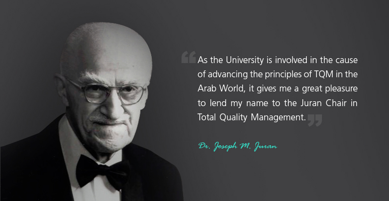 joseph m juran Here's a brief comparison of deming vs juran vs crosby – people who are recognized as pioneers in project management  joseph juran who was he.