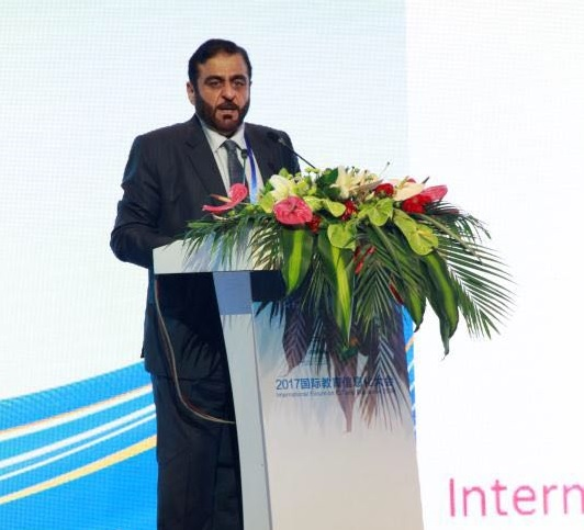 HBMSU model for innovative learning under spotlight at International Forum on ICT and Education 2030
