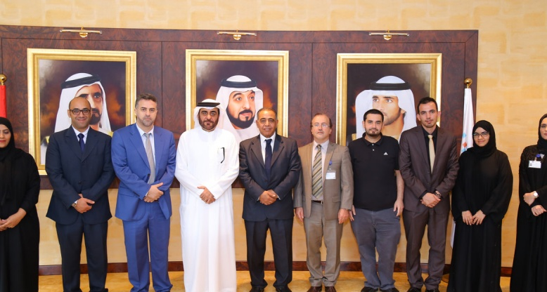 HBMSU meets with Fujairah University to discuss smart learning