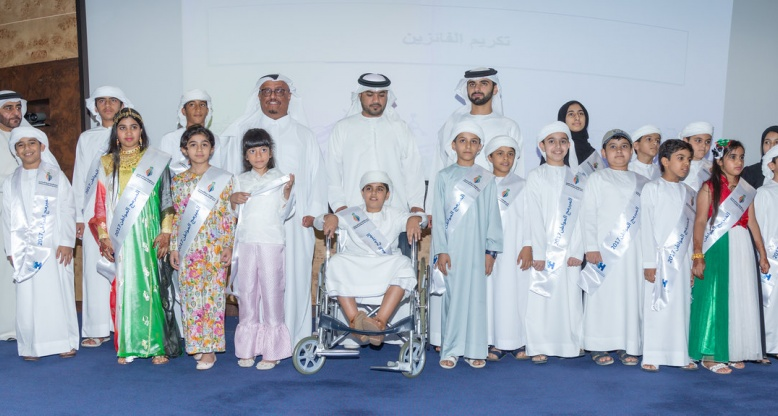Mansoor Bin Mohammed honors outstanding winners of 'Hackathon' competition