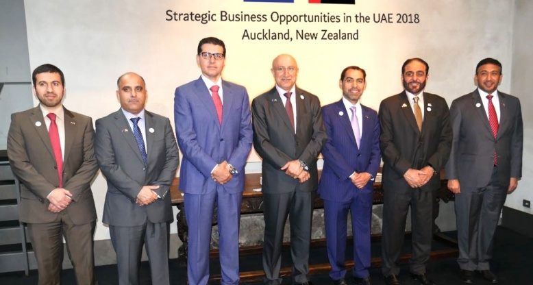 UAE Ambassador to New Zealand Discusses Strategic Business Opportunities in Auckland